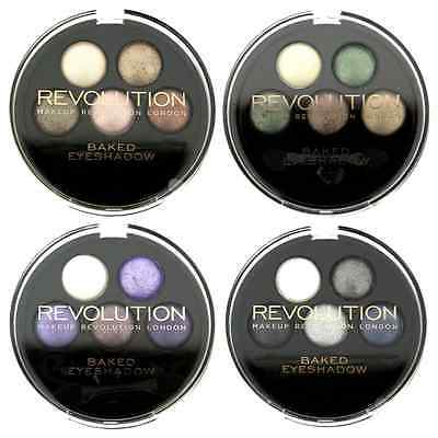 Makeup Revolution 5 Piece Baked Eyeshadow Palette - Choose Your Palette - 4g
