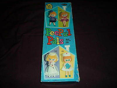 PeePul Pals Magic Stay-On Dolls (1967, Western Publishing Company Inc)
