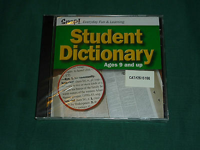 Student Dictionary (PC, 2002) NEW!