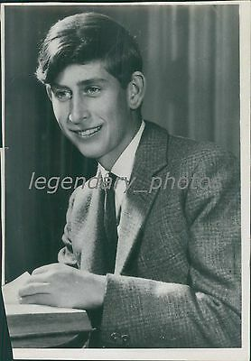 Portrait of Prince Charles of England Original News Service Photo