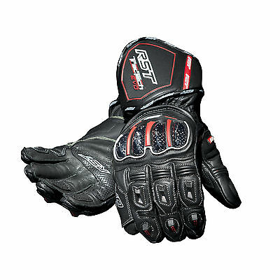 RST Tractech EVO Waterproof Glove Black Road Race Sport All Weather