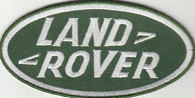 Land Rover Embroidered Patch