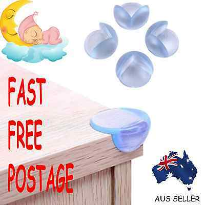 Child Baby Safety Silicone Protector Table Corner Edge Protection Cover OzSeller