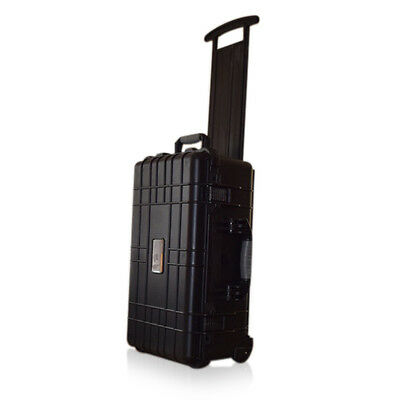 329 US PRO Waterproof Wheeled Rolling Travel Equipment Tool Box Hard Case Foam