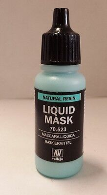 Vallejo Liquid Mask 17ml (100ml=16,18€) (70 523) Maskiermittel #197 *NEU & OVP*