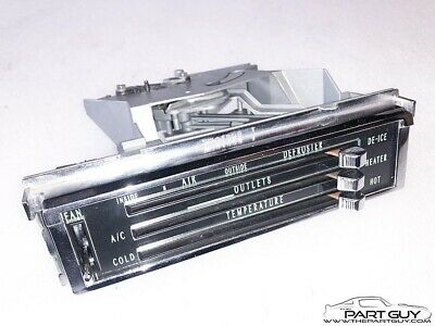 RBLT 67-72 Chevy Truck 65-66 Impala A/C HEATER CONTROL AC Air Conditioning Heat