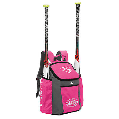 Louisville Slugger Series 3 Stick Pack Baseball/Softball Backpack - Hot Pink