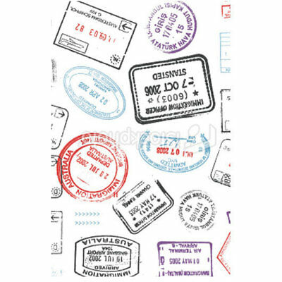 NEW Personalised Luggage Tag - Stamps from Gogo Gear Travel Accesssories