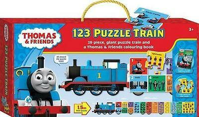 NEW Thomas and Friends Puzzle Train : 123 Book with Other Items Free Shipping