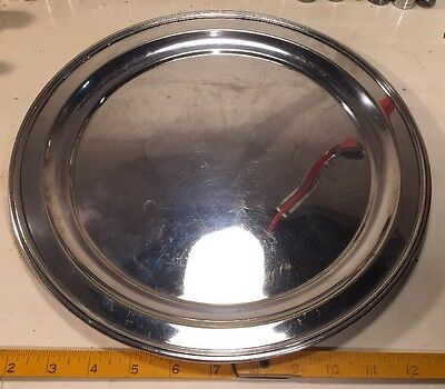 """Vintage Derby Silver Plate Co. No. 616 Sheffield Reproduction 12 1/2"""" Plate!"""
