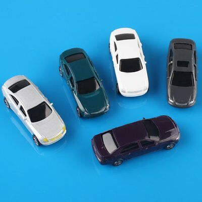 20pcs OO Scale 1:75 Painted Mini Model Cars Building Train Layout Brand New