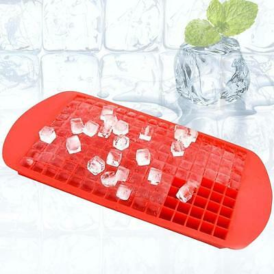 Bac à glaçons Ice Cube Moule Pudding Jello Mold Silicone Summer Party Rouge ED