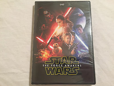 Star Wars: The Force Awakens (DVD, 2016) BRAND NEW - FREE SHIPPING TO THE US!!!