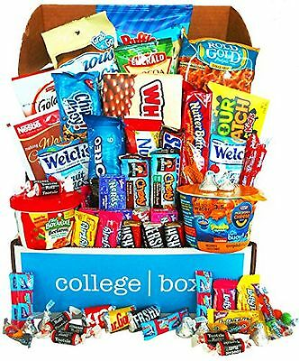 Deluxe Snacks Care Package, snack gift, college assortment variety pack bundle