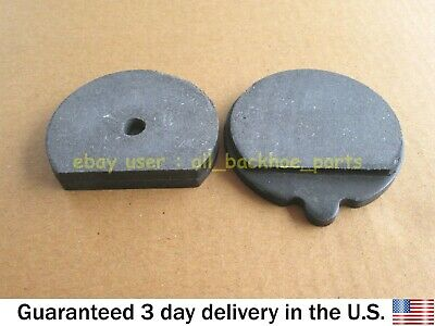 Jcb Backhoe - Hand Brake Pads Round (Part No. 15/920103 478/00849 15/913501)