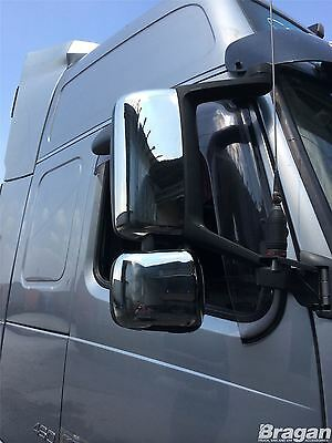 Volvo FH / FM Series 2 / 3 Stainless Steel Chrome Side Mirror Covers Truck