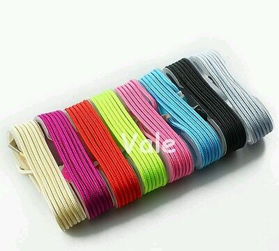 Lot 50 5ft USB Data Cord Fabric branded Colorful Cables for Apple iPhone 5/6/6s/