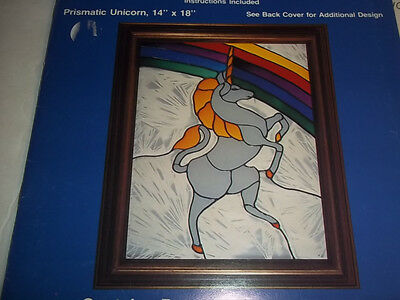 Stained Glass Pattern Look Alikes Prismatic Unicorn & Dream Castle