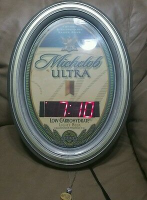 Michelob Ultra clock light