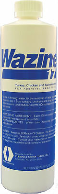 Wazine 17 Turkey, Chicken & Swine Wormer, No. 36010,  by Fleming Ltd