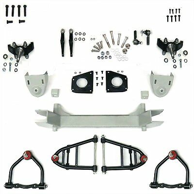 Mustang II 2 IFS Front End kit for 57-71 Mercury fits Wilwood & SSBC Brakes