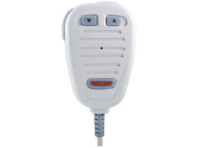 Gme Mc501 Marine White Microphone With Coil Cable To Suit Gx600 Radio