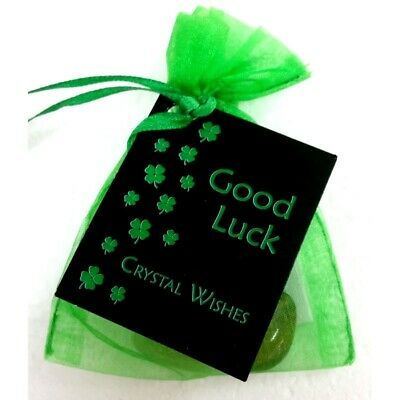 Crystal Wish Kit Pouch - GOOD LUCK Lucky Gifts Good Fortune Gift For Him Her