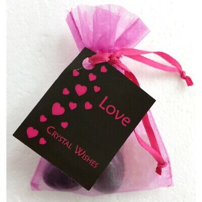 Crystal Wish Kit Pouch - LOVE Gifts For Wife Husband Daughter Sister Brother