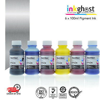 Trend Pigment Ink for use in Epson Printer Cartridge 82N C Y M Bk Lm Lc + MORE