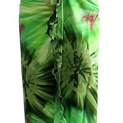 Sarong gelb rot blickdicht Strandtuch Pareo Wickelrock Lunghi Stola Tuch 19