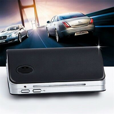 Classic Black Car Air Purifier Cleaner Ionic UV HEPA Ionizer Fresh Ozone AU