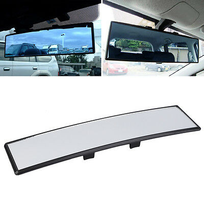 Universal Practical Wide Anti-Glare Flat Clip On Rear View Mirror AU