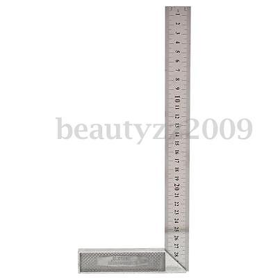 30cm/12'' Metal Engineers Try Square Set Measurement Tool Right Angle 90 Degrees