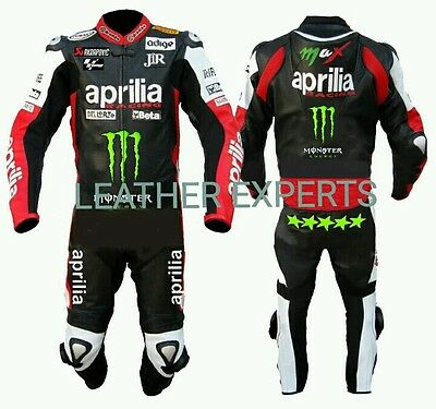 APRILLIA  MotoGp 2016 MOTORBIKE/MOTORCYCLE SUIT - CE APPROVED FULL PROTECTION