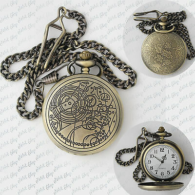orologio doctor who dottore chi bbc pocket watch gadget cosplay ten new nuovo