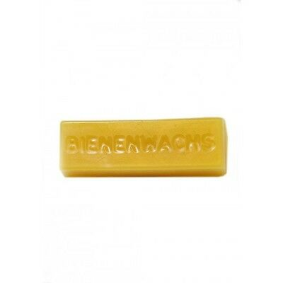 Beeswax Mould, 5 cavity, 28g bar - 'Bienenwachs' wording in mould, soap wax