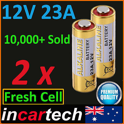 2 x 12V A23 23A ultra High Voltage Alkaline Battery E23A LRV08 N21 EL12 VR22 MS2