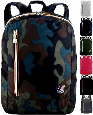 Zaino Uomo Donna K-Way K-Pocket Backpack Men Woman 4BKK1317