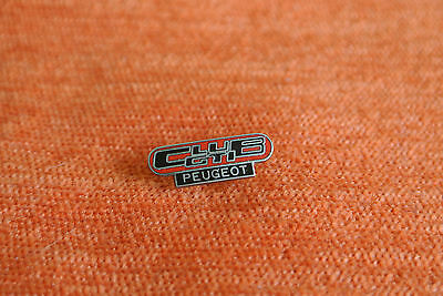 14698 Pin's Pins Auto Car Voiture Peugeot Club Gti