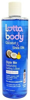 Lotta Body Texturizing Setting Lotion with Coconut & Shea Oils