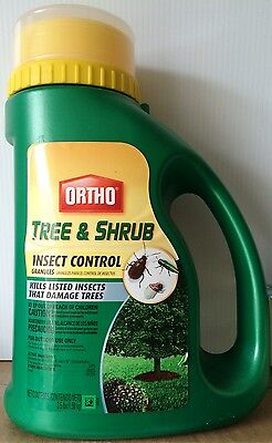Ortho Tree & Shrub Insect Control Granules - 3 1/2 Pounds - NEW