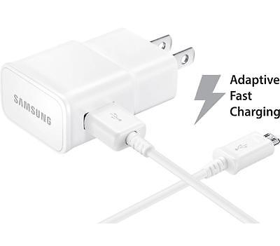 6 X OEM Samsung Galaxy S7 S6 Edge+ Note 5/4 Fast Adaptive Chargers & USB Cables