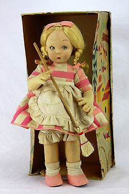Vintage Lenci Doll In Original Box ca1930