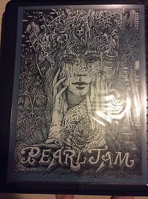 Pearl Jam Welker Sao Paulo Show Edition Poster