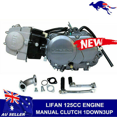 125cc Motorbike Engine motor Manual Clutch Dirt Pit bike Lifan