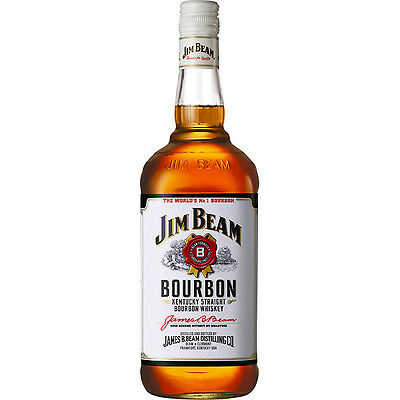 Jim Beam White Label Bourbon - 700mL
