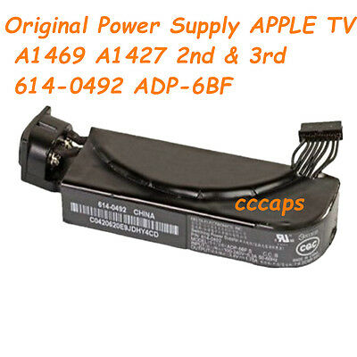 Original Power Supply for APPLE TV A1469 A1427 2nd & 3rd  614-0492 ADP-6BF
