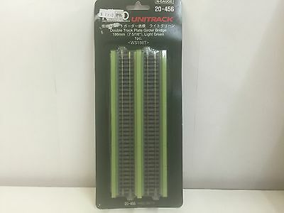 KATO, Double Track Plate Girder Bridge 186mm Light Green, N-Gauge, 20-456