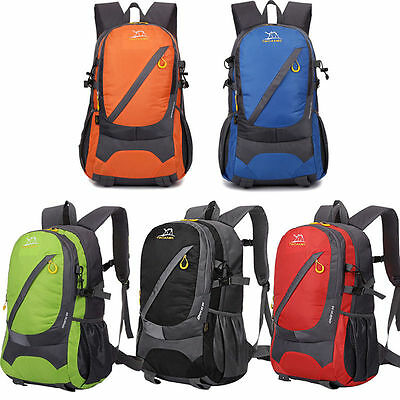 30L Hiking Camping Cycling Travel Waterproof Backpack Rucksack Bag Outdoor