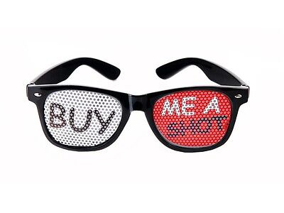 Buy Me A Shot Novelty Party Glasses Stag or Hen Night Festival Fancy Dress